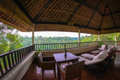 Villa Sungai view